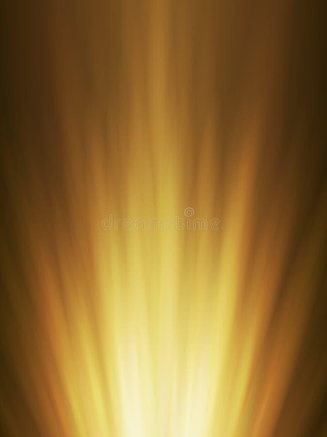 Fondo abstracto del ra que brilla intensamente anaranjado fotos de archivo