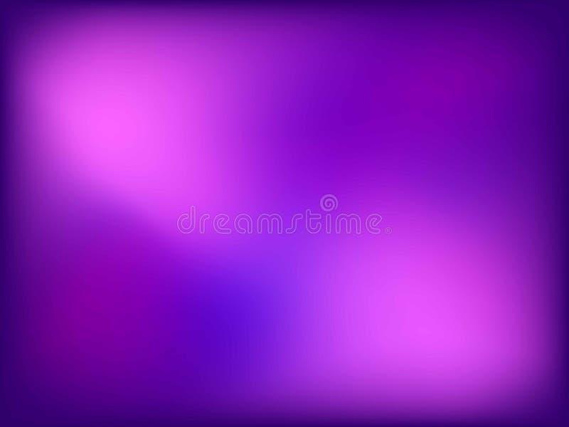 Fondo abstracto del rosa y violeta de la falta de definici?n del color de la pendiente para el dise?o gr?fico Ilustraci?n del vec imagen de archivo libre de regalías