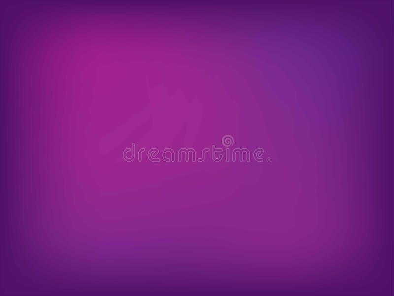 Fondo abstracto del rosa y violeta de la falta de definici?n del color de la pendiente para el dise?o gr?fico Ilustraci?n del vec foto de archivo libre de regalías