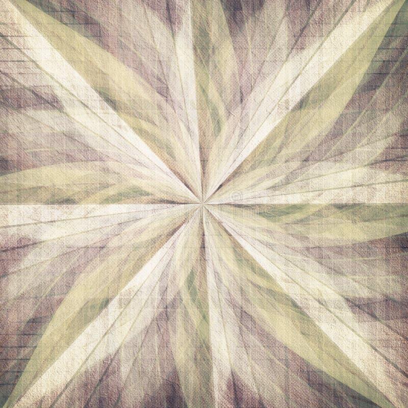 Fondo abstracto del rosetón stock de ilustración
