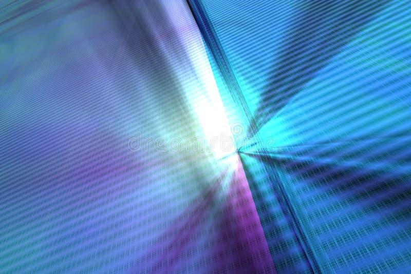 Fondo abstracto del techno ilustración del vector