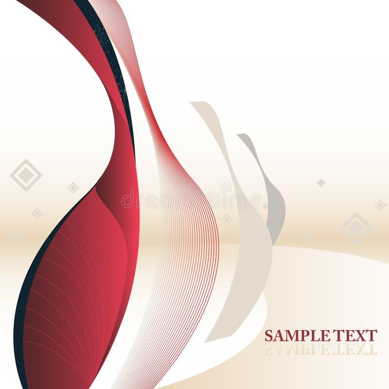 Fondo abstracto del texto de la muestra stock de ilustración