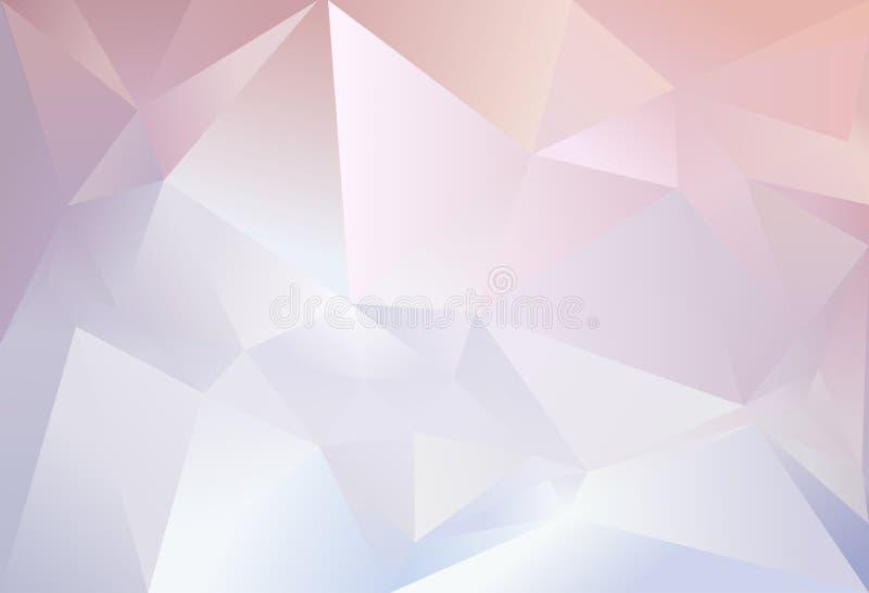 Fondo abstracto del triángulo libre illustration