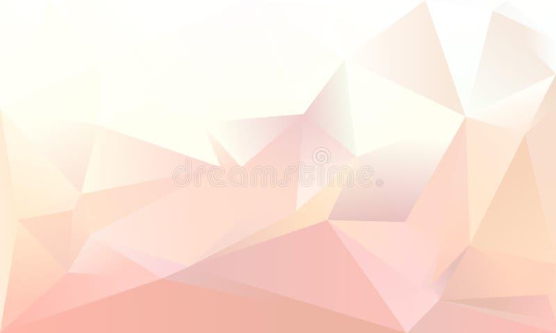 Fondo abstracto del triángulo ilustración del vector