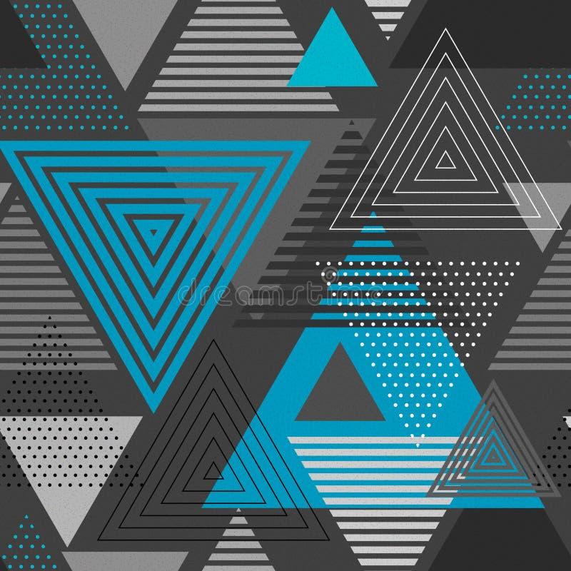 Fondo abstracto del triángulo del inconformista stock de ilustración