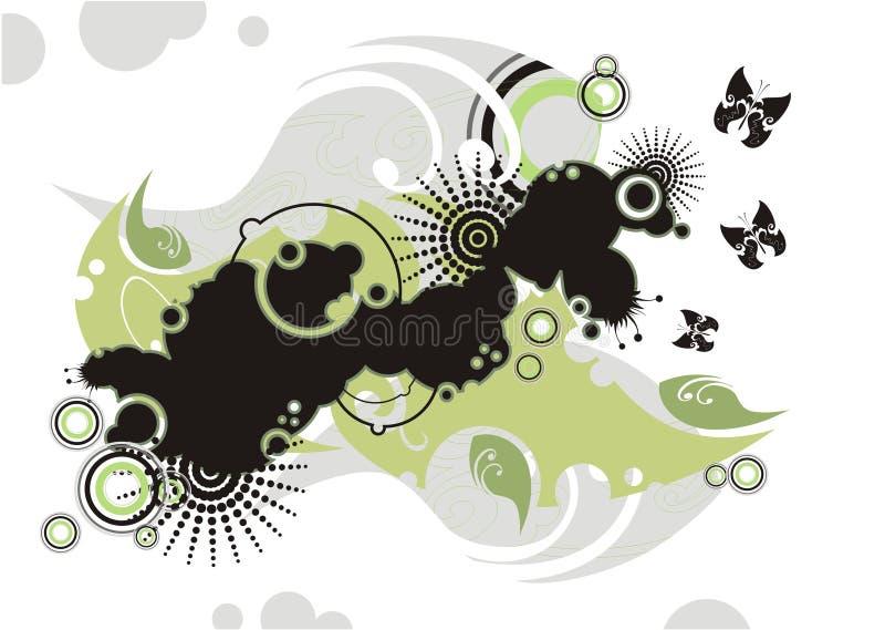 Fondo abstracto del vector ilustración del vector