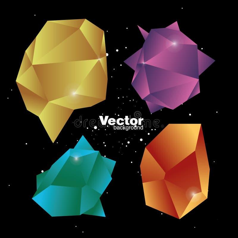 Fondo abstracto del vector fotos de archivo