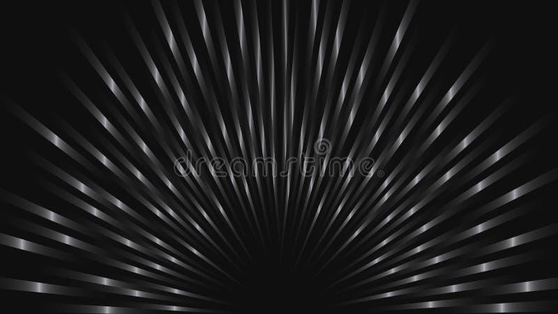 Fondo abstracto del vector con las tiras de metal ilustración del vector