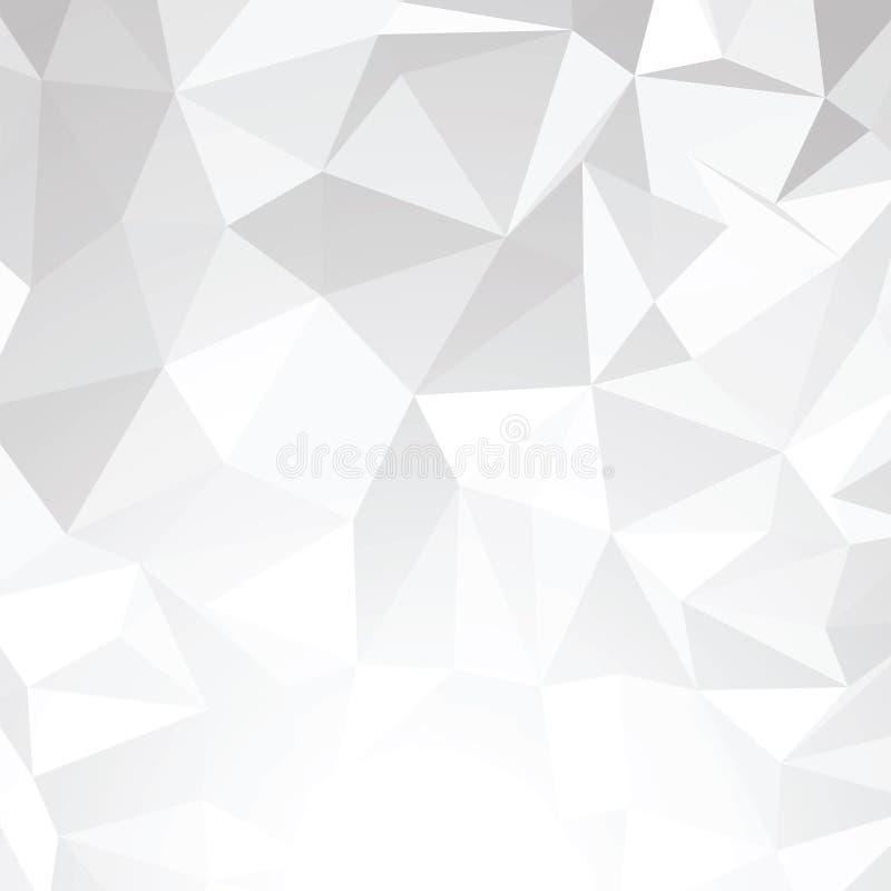 Fondo abstracto del vector del alambre 3d. EPS 8 ilustración del vector