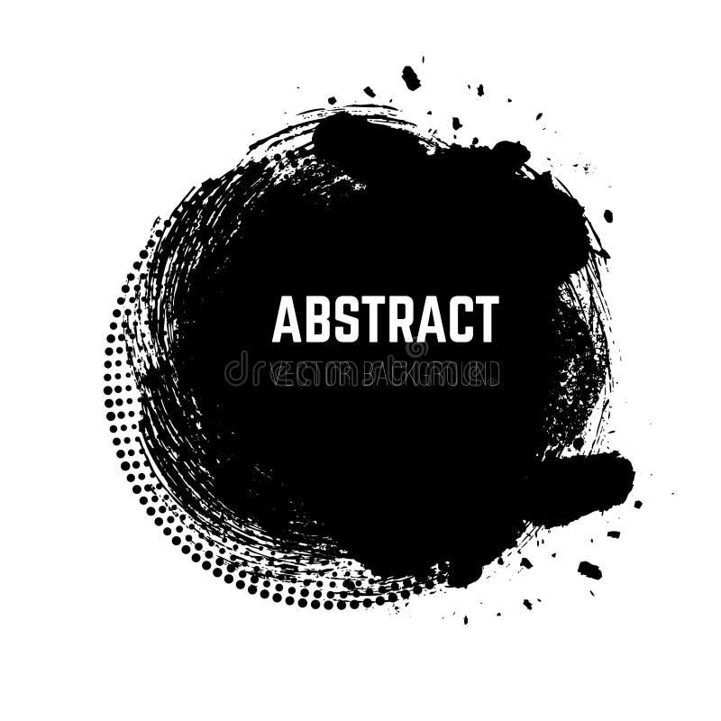 Fondo abstracto del vector del grunge imagenes de archivo