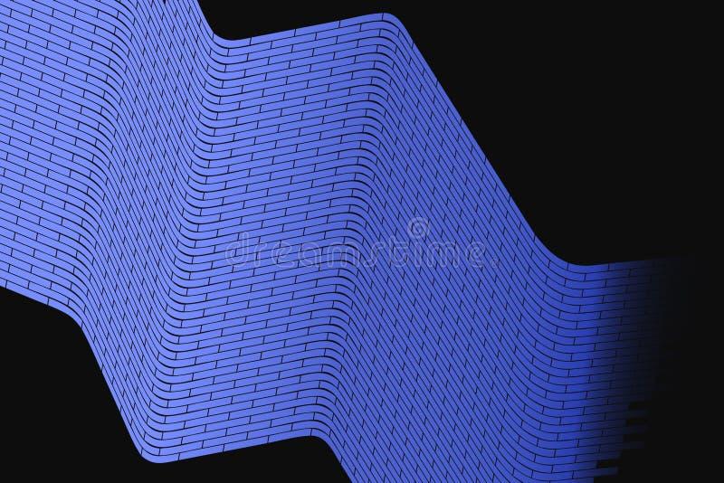Fondo abstracto del vector Ejemplo cibernético de la rejilla Célula multicolora masiva libre illustration