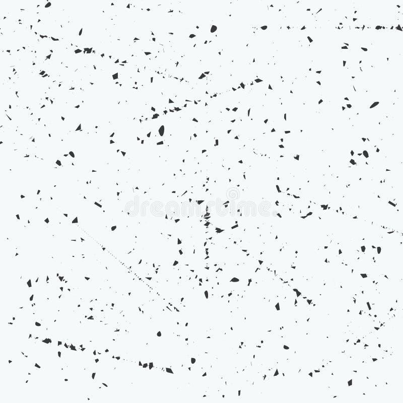 Fondo abstracto del vector Textura del viejo stock de ilustración
