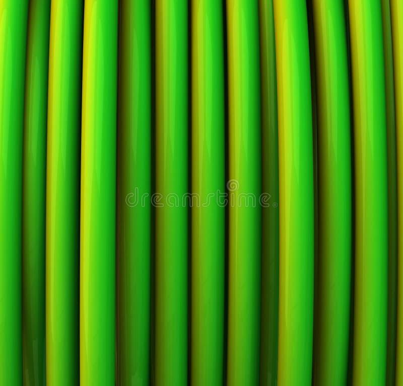 Fondo abstracto del verde 3d libre illustration