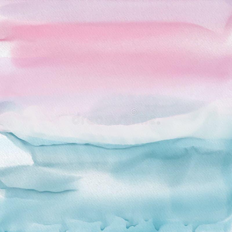Fondo abstracto del Watercolour stock de ilustración