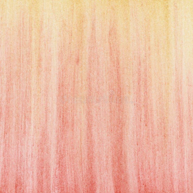 Fondo abstracto en colores pastel amarillo rojo imagen de archivo