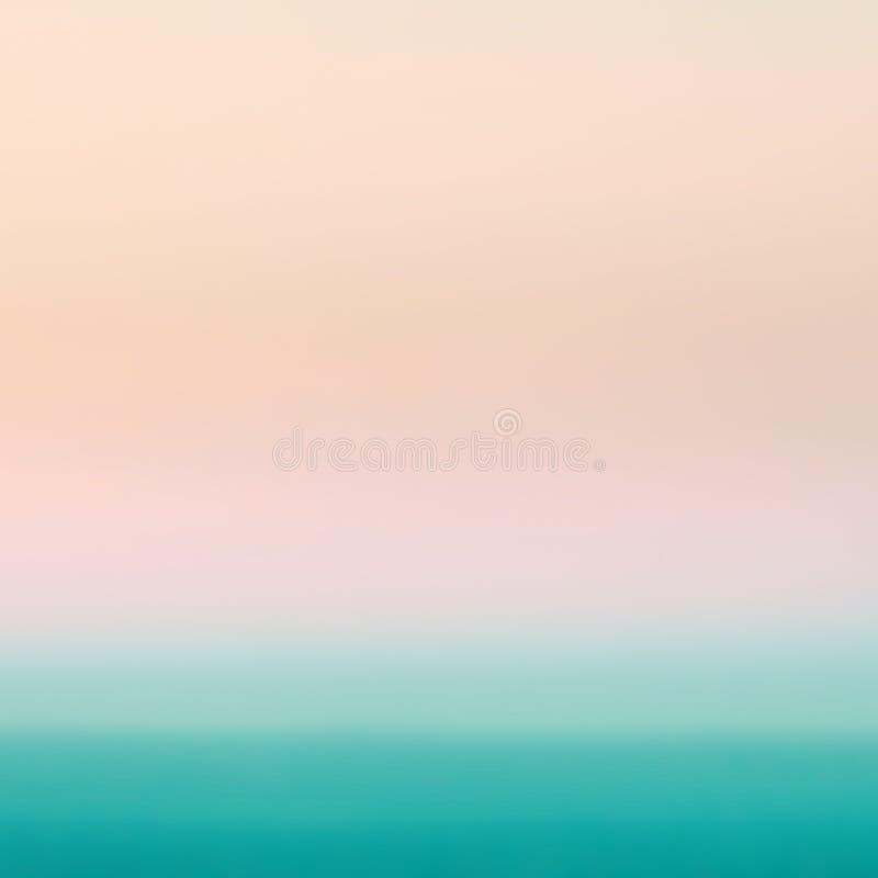 Fondo abstracto en colores pastel liso de la pendiente con amarillo, rosado y fotografía de archivo libre de regalías