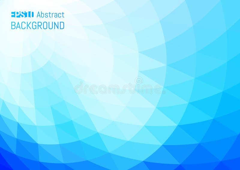 Fondo abstracto en el estilo poligonal Textura geométrica ilustración del vector