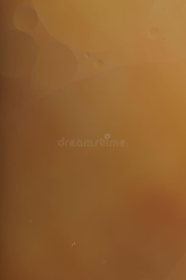 Fondo abstracto enmascarado Círculos anaranjados y líneas onduladas de diversos tamaños libre illustration