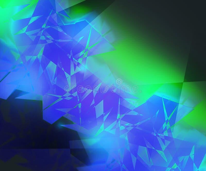 Fondo abstracto extraño ilustración del vector