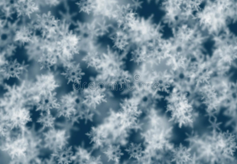 Fondo abstracto festivo del invierno con el bokeh imagen de archivo libre de regalías