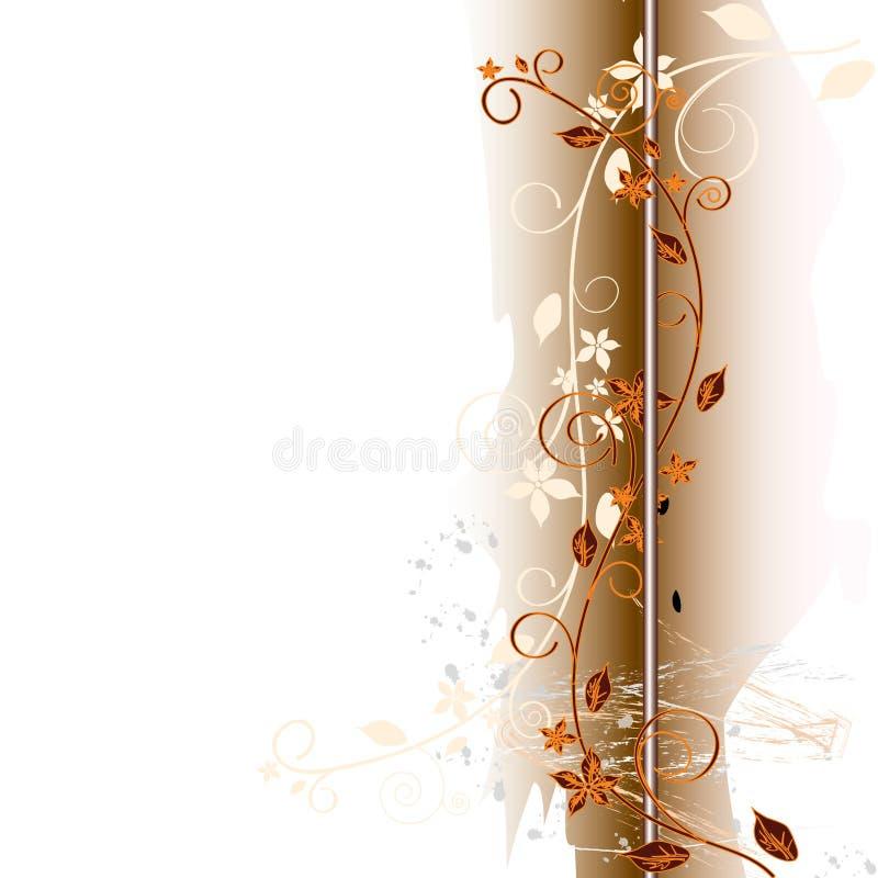 Fondo abstracto floral. stock de ilustración
