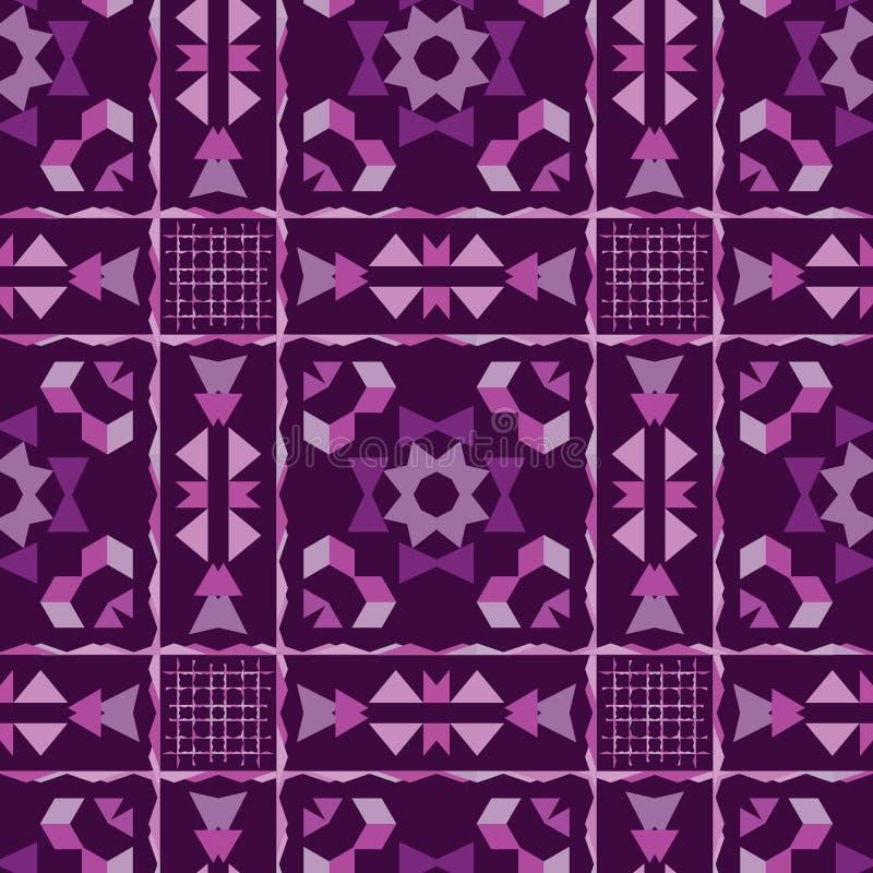 Fondo abstracto floral brillante con púrpura ilustración del vector