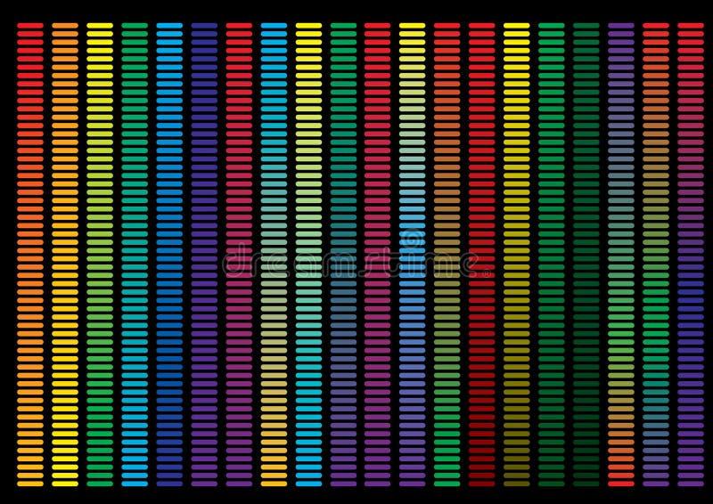 Fondo abstracto, fondo del arco iris ilustración del vector