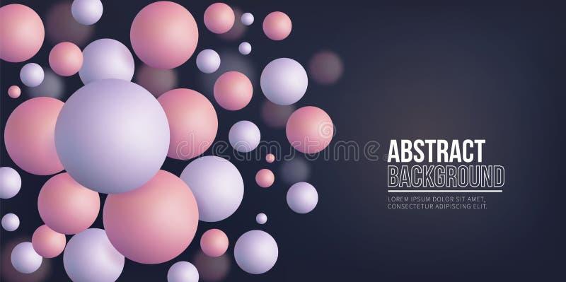 Fondo abstracto, formas geométricas libre illustration