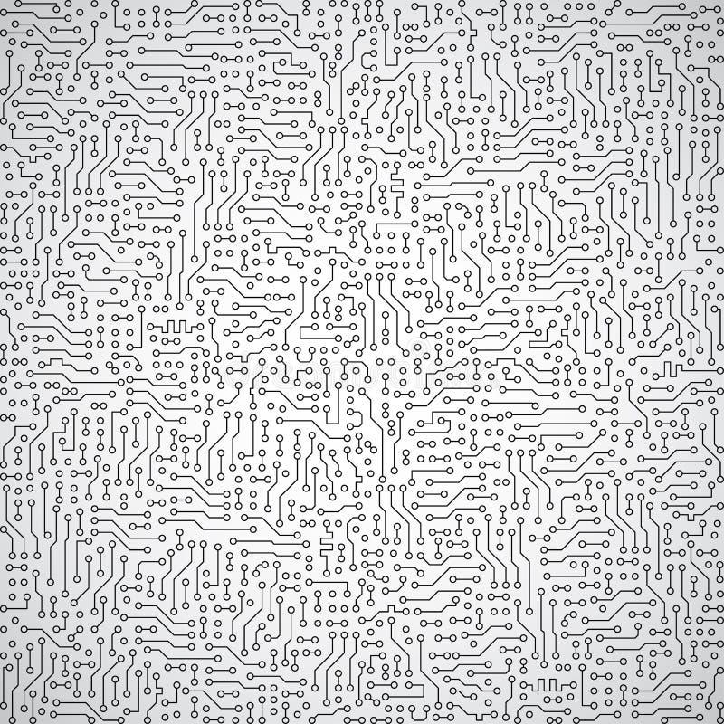 Fondo abstracto gris del vector - engin eléctrico ilustración del vector