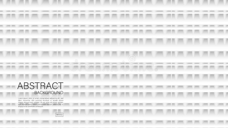 Fondo abstracto gris, vector geométrico, textura gráfica, mínima, diseño de la cubierta, plantilla del aviador, bandera, página w libre illustration