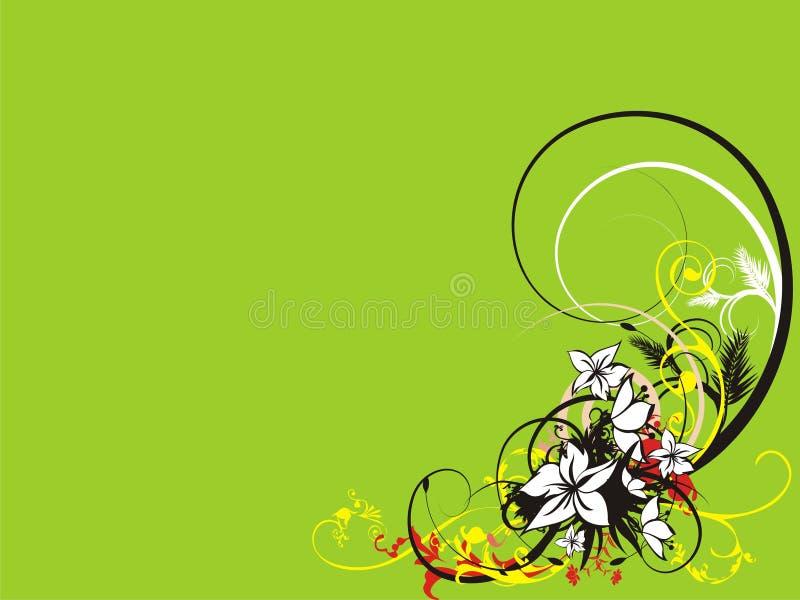 Fondo abstracto hermoso ilustración del vector