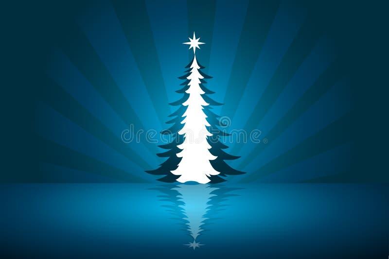 Fondo abstracto hermoso del vector de la Navidad libre illustration