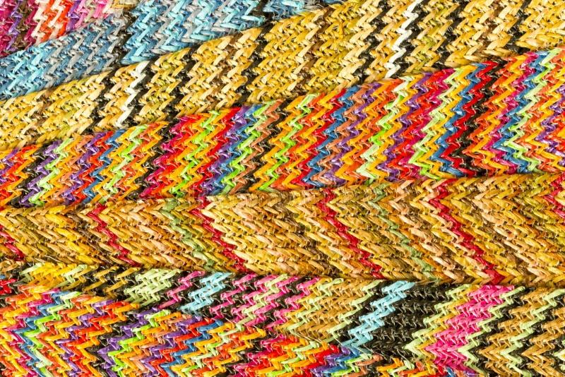Fondo abstracto inconsútil multicolor de Zig Zag foto de archivo libre de regalías