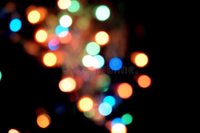 Fondo abstracto ligero de Bokeh Remiendos de Varicoloureds de la luz para el fondo imágenes de archivo libres de regalías