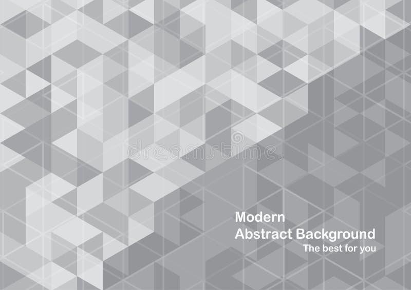 Fondo abstracto moderno en forma del polígono Diseño de la plantilla adentro ilustración del vector