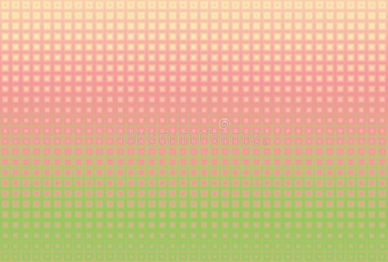 Fondo abstracto multicolor con un modelo ilustración del vector