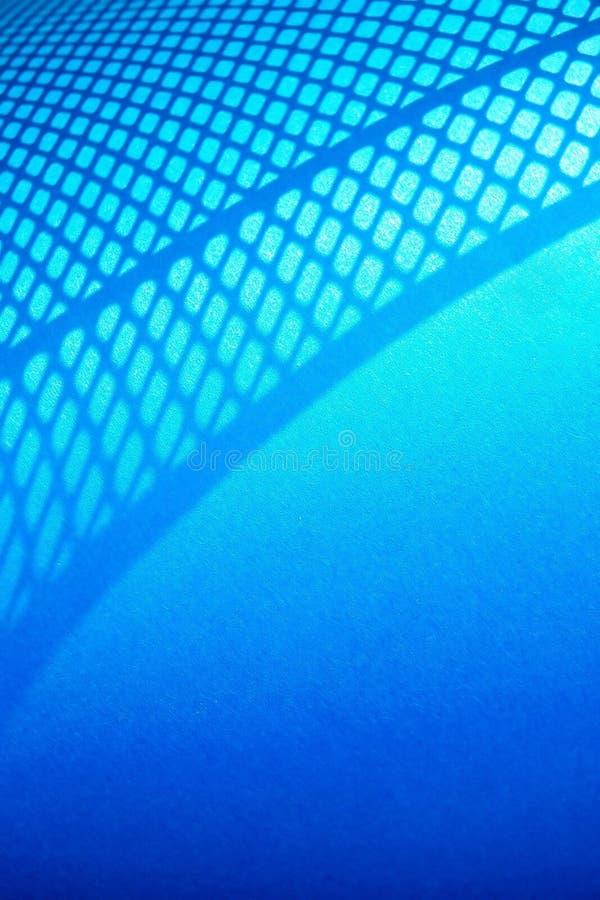 Fondo abstracto neto azul imagen de archivo