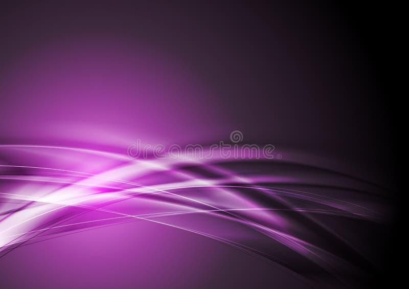 Fondo abstracto púrpura ilustración del vector