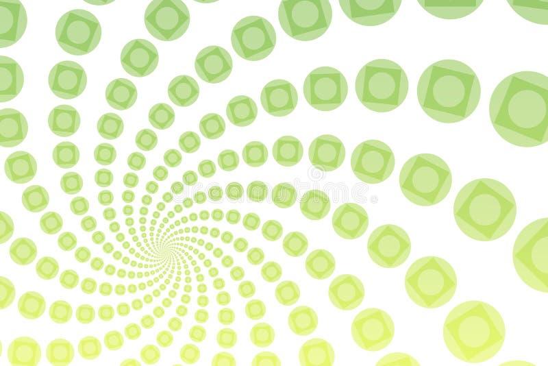 Fondo abstracto peculiar ilustración del vector