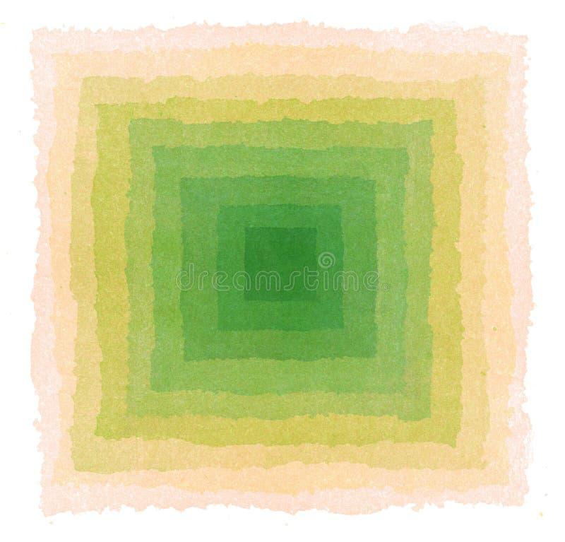 Fondo abstracto pintado a mano con la acuarela libre illustration