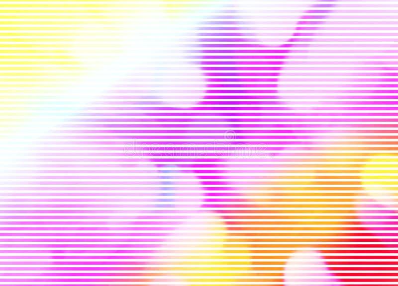 Fondo abstracto que relaja colores en colores pastel stock de ilustración