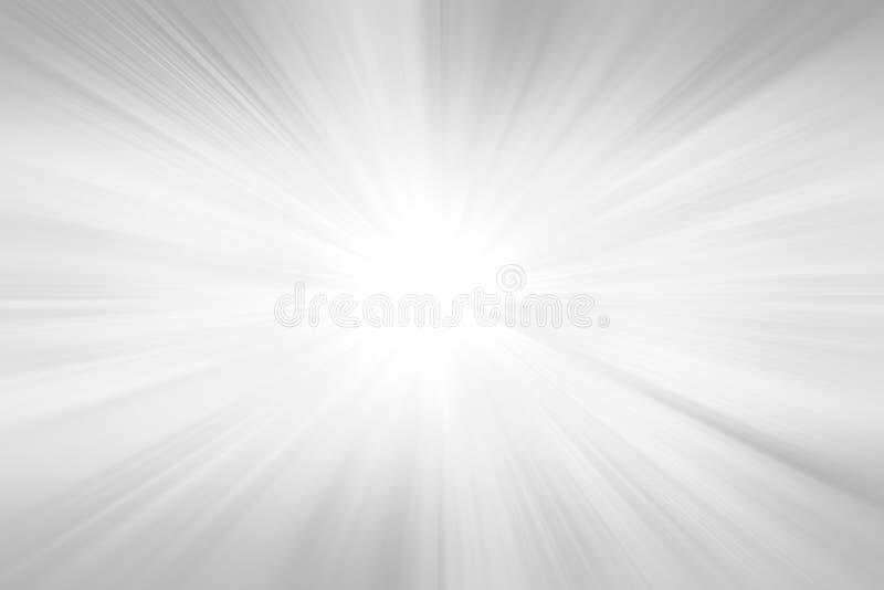 Fondo abstracto radial Fondo gris de la explosión del rayo de la pendiente ilustración del vector