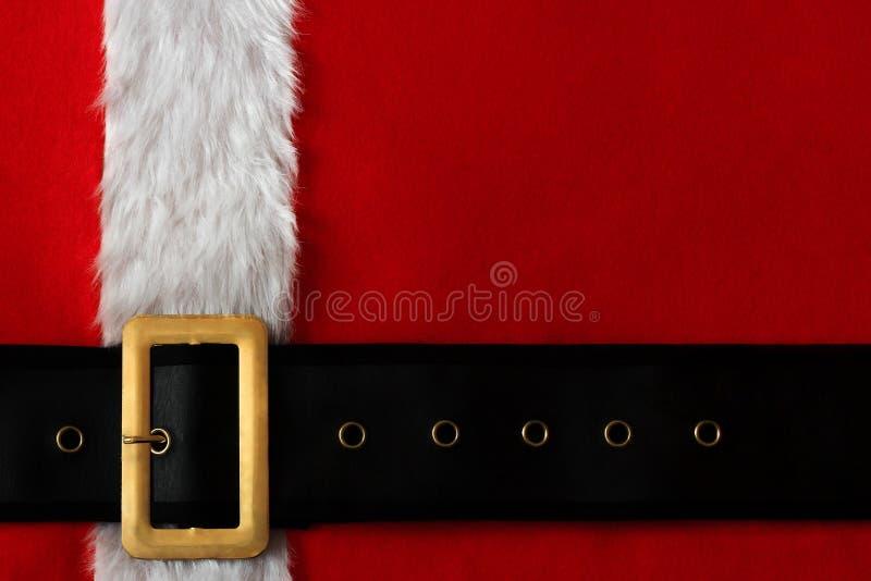 Fondo abstracto rojo de la Navidad del traje de Santa Claus imagenes de archivo