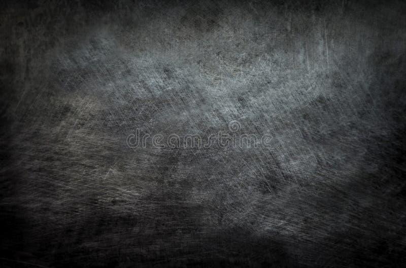 Fondo abstracto superficial de la textura del tablero del modelo conceptual negro del rasguño foto de archivo