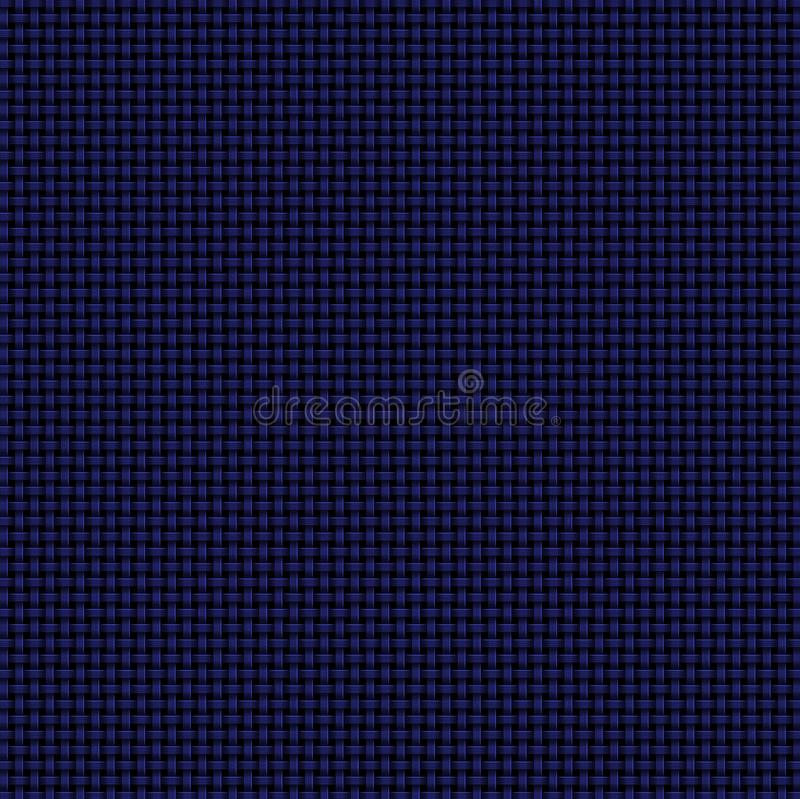Fondo abstracto tejido azul marino stock de ilustración