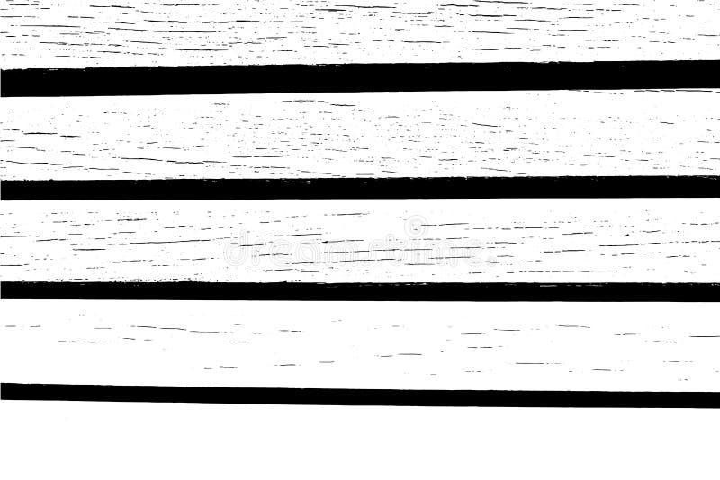 Fondo abstracto, textura de madera del vector Superficie de madera del tablón ilustración del vector