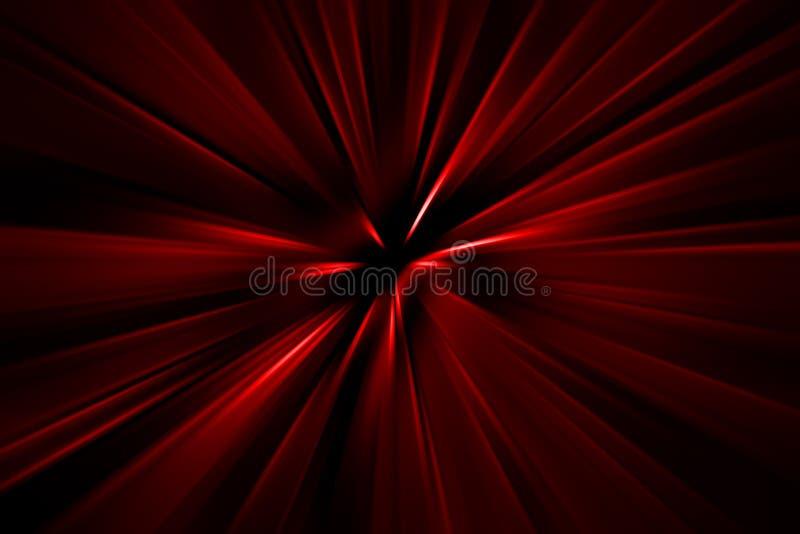 Fondo abstracto. Una gama de colores roja stock de ilustración