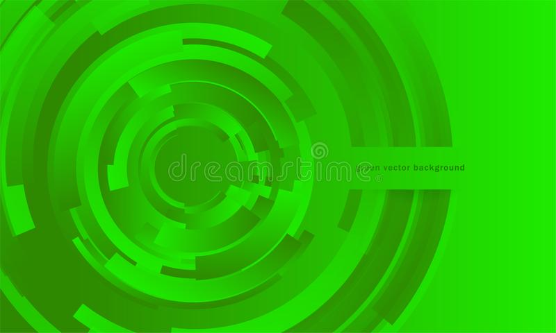 Fondo abstracto verde fotografía de archivo