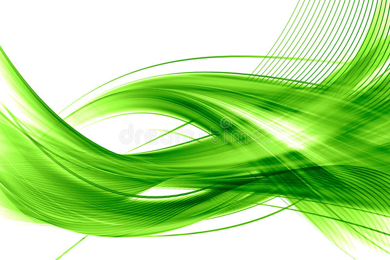 Fondo abstracto verde libre illustration