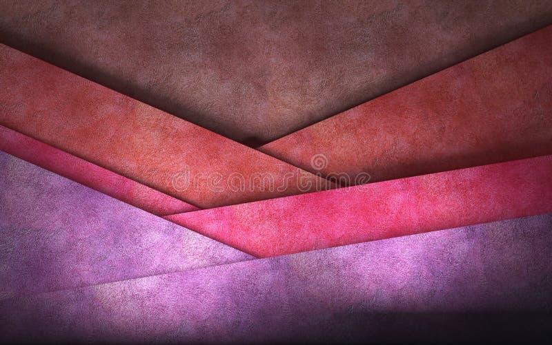 Fondo acodado violeta abstracto. libre illustration